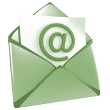 Volg ons per e-mail